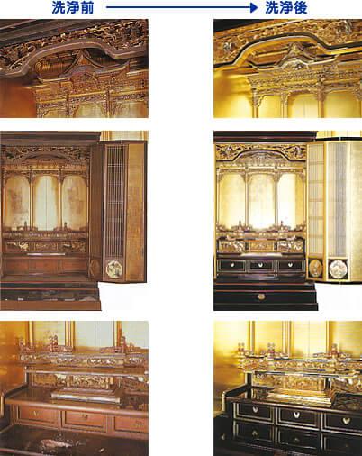 お仏壇の「お洗濯」