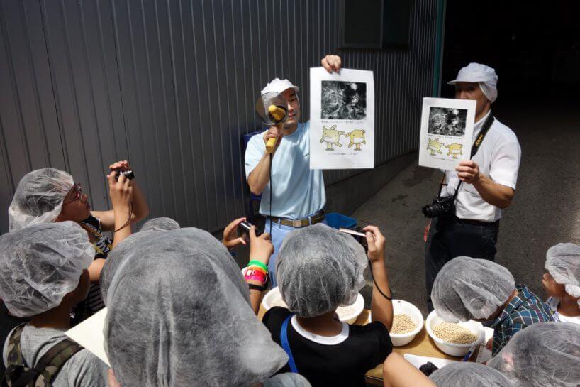 夏休み産地工場見学」下津醤油さ...